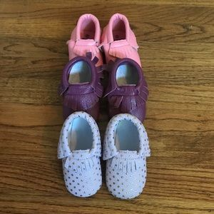 Other - 3 pairs of Baby Moccasins